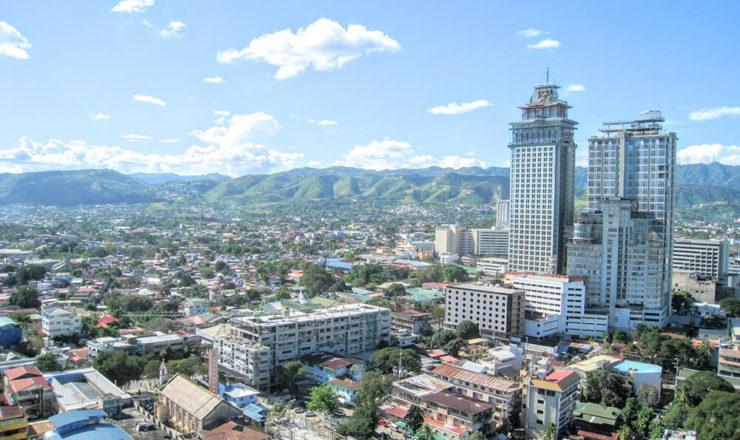 フィリピンの町並み