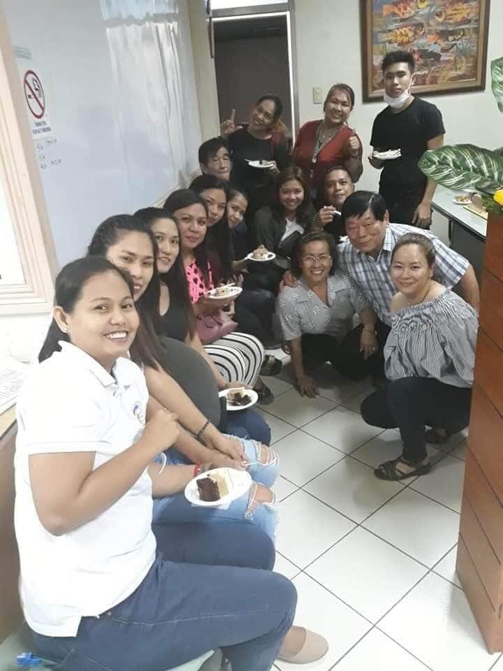 フィリピン研修施設の同期